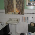 Imperial War Museum, London - Mockup of WWII House Bathroom