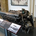 Imperial War Museum, London - Engine from Rudolph Hess' Crashed Plane