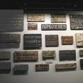 Imperial War Museum, London - Trench signs from WWI