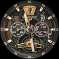LG Watch Sport - AP Skeleton Tourbillion watch face