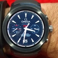 LG Watch Sport - Omega Seamaster GMT face