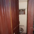 Matjiesfontein - toilet on 3rd class carriage