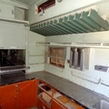 Matjiesfontein - kitchen in old railway carriage