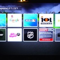 LG Blu-ray player - Premium app screen 1 of 2... note Zoopy and IOL which are both local.