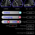 BatterChecker Widget - latest version showing new information shown on my Galaxy S Phone