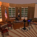The USA Oval Office in Second Life