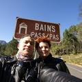 Bain's Kloof Ride - Us at start of the Pass