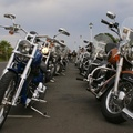 Line up at start of K.I.D.S Charity Ride