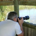 Danie shooting at Rondevlei Nature Reserve, Cape Town