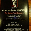 Original venue of Godfathers restaurant in Centurion