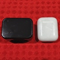 BlitzWorld Earbuds - RElative size to Airpods Case