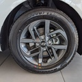 Alloy wheels standard on Fluid model