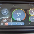 ODB2 for AA shows Torque app gauges